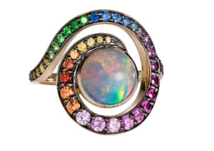 In no way over the rainbow - The Jewellery Cut
