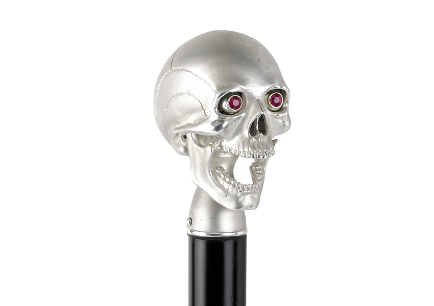 Skull cane, Deakin & Francis, POA