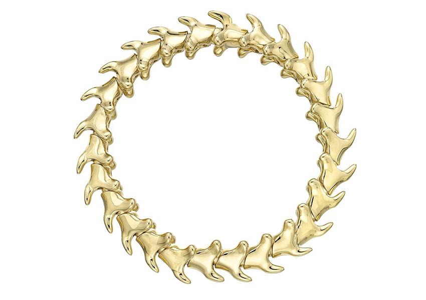 Serpent's Trace yellow gold vermeil bracelet, Shaun Leane, £650