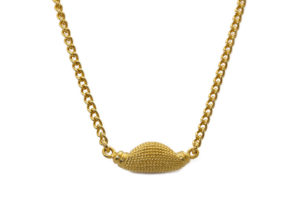 Rosie Kent yellow gold vermeil Maxilla Pod necklace