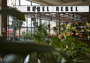 Rebel Rebel florist at Mare Street Market