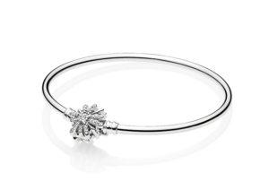 Pandora silver Snowflake bracelet