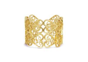 Arabel Lebrusan gold-plated silver filigree jewel