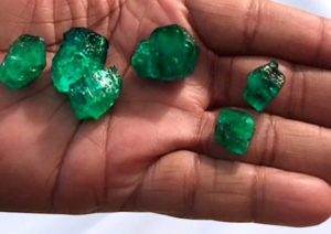 Fura is mining emeralds in the famous Muzo region of Colombia