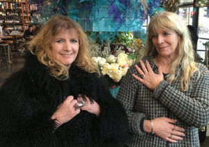 Rebel Rebel Flowers owners Athena Duncan and Mairead Curtin