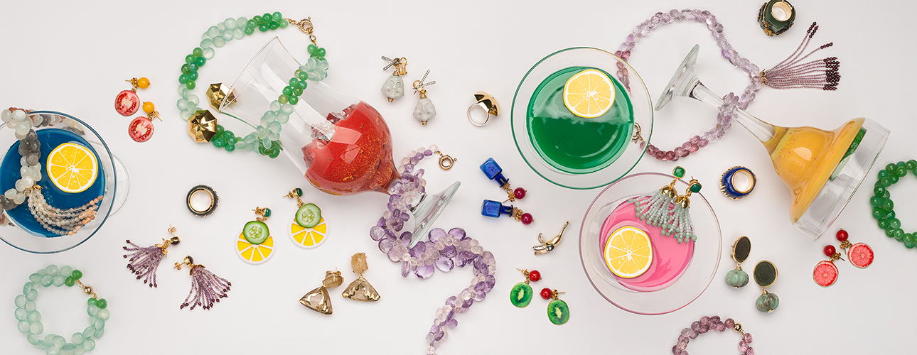 Tessa Packard's Under the Influence jewellery collection