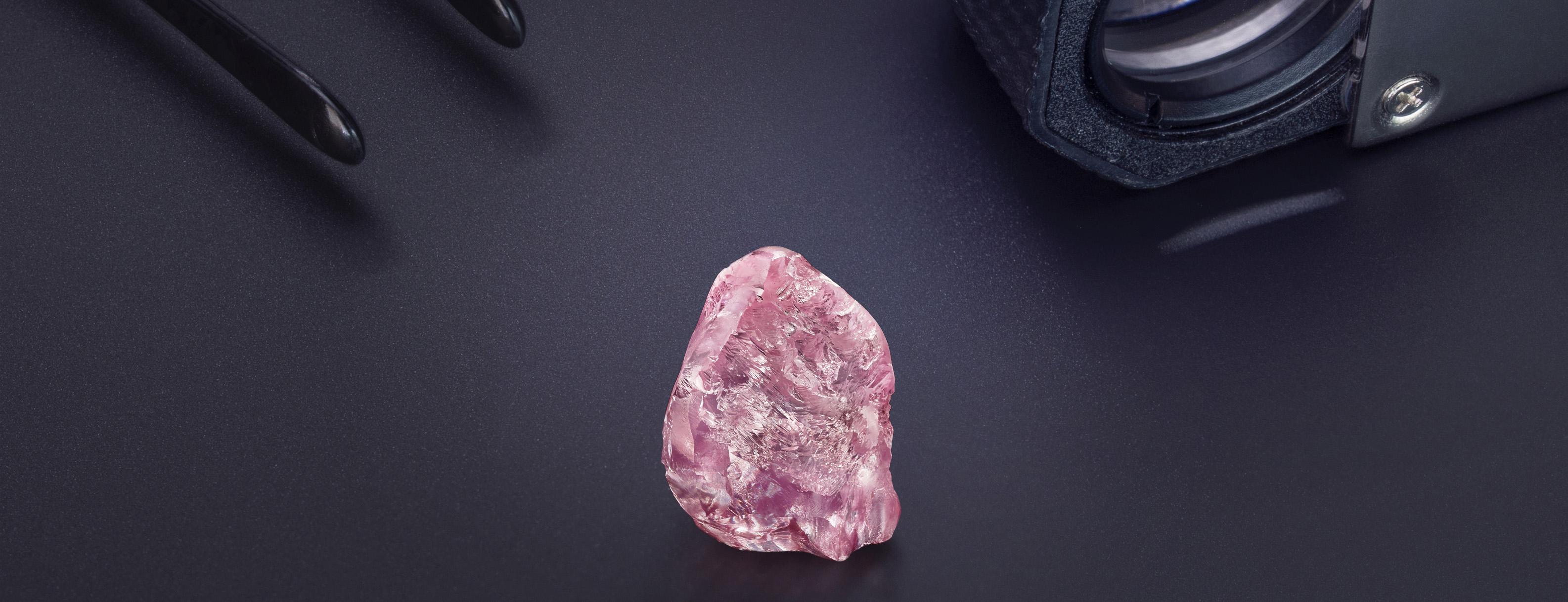 Graff Lesotho Pink 13.33ct pink diamond