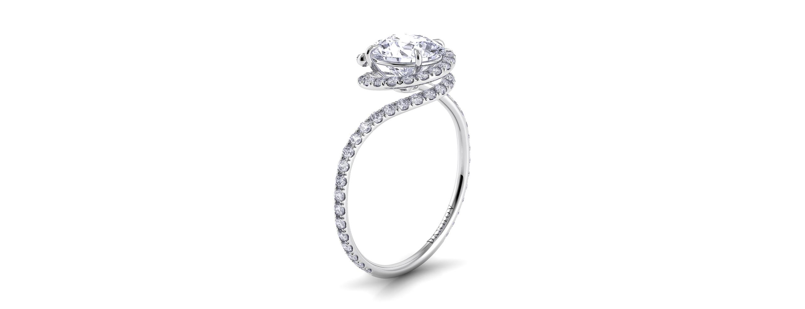 Danhov diamond engagement ring at Savvy+Sand