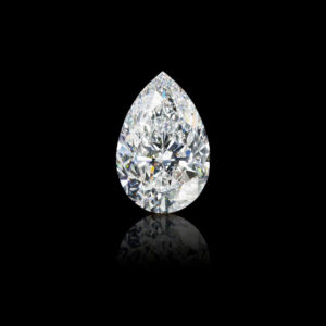 The 105ct pear-shaped Graff Vendôme diamond