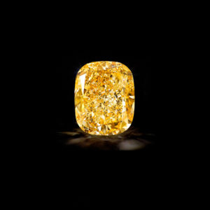 The Golden Empress 132ct yellow diamond owned by Graff