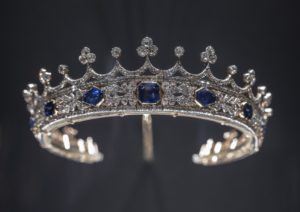 Queen Victoria's sapphire and diamond coronet in V&A William and Judith Bollinger Gallery