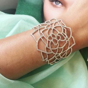 Moniani diamond cuff