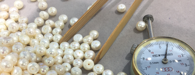 Claudia Bradby sourcing pearls in Hong Kng