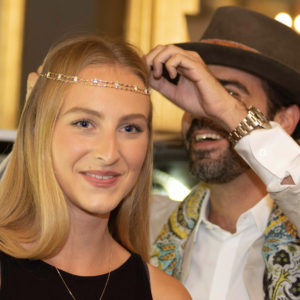 Isla Gilham and Julien Riad Sahyoun at The Jewellery Cut Live