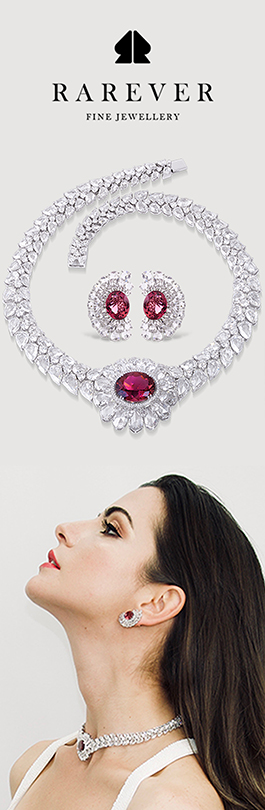 London luxury diamond jewellery specialist Rarever