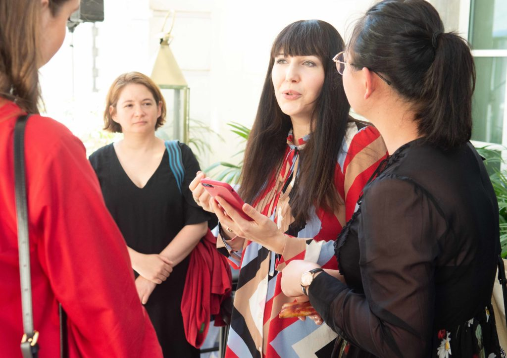Katerina Perez in conversation at The Jewellery Cut Live September 2019