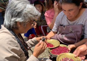 Gemstone Detective Kim Rix evaluates Mogok rubies and spinel in Myanmar