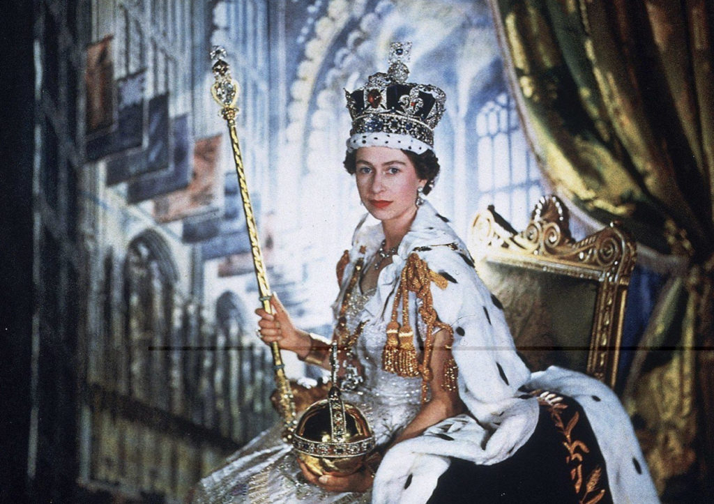Queen Elizabeth II coronoation