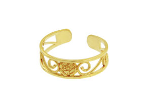 Gold Boutique 9ct yellow godl toe ring