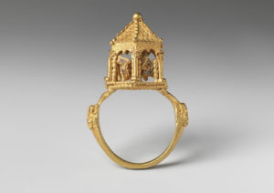 Jewish ceremonial marriage ring at the Met Museum