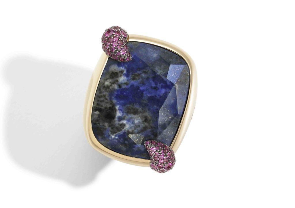 Pomellato Denim Lapis Lazuli jewellery collection