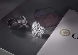 The Graff Venus heart-shaped diamond