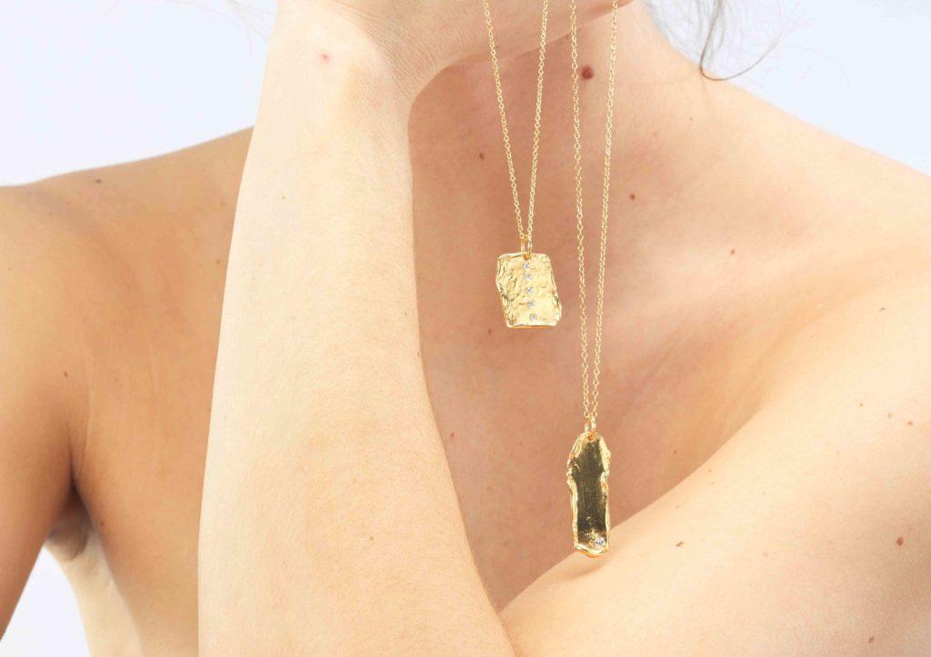 Deborah Blyth Goddess gold vermeil jewellery collection