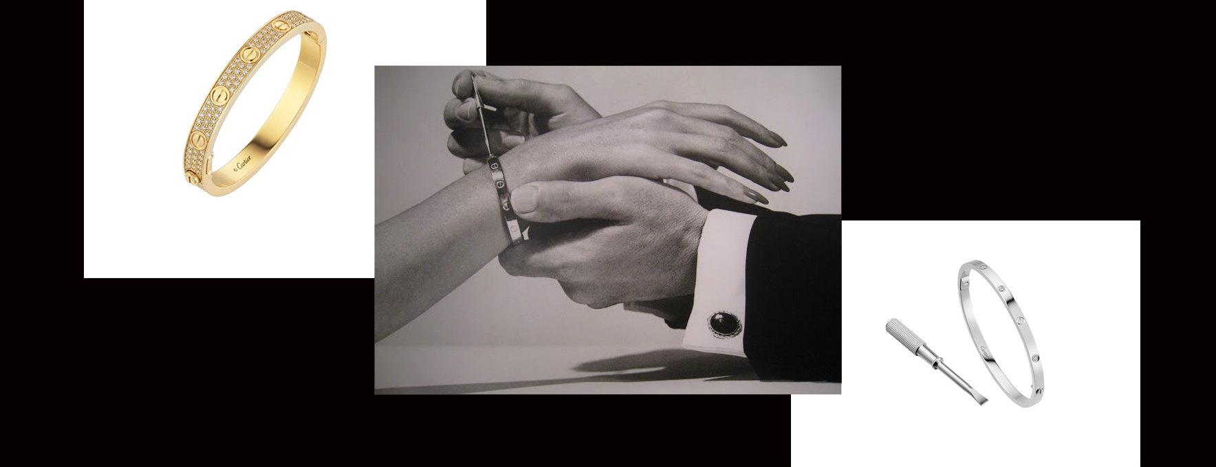 The history of the Cartier Love Bracelet