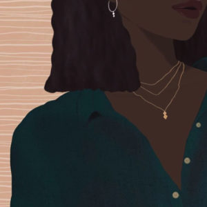 The Jade fine jewellery collection by Jwllry by Jade, as illustrated by Katherine Hannah