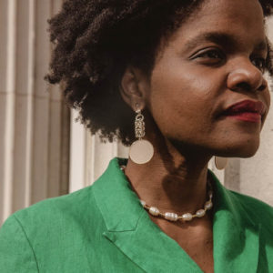 Mamater founder and jewellery designer Marilyne Kekeli