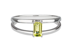 Carolin Stone silver and peridot Charming Imaginative ring