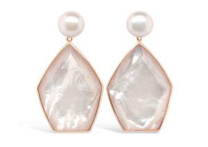 Olivia and Pearl pearl earrings