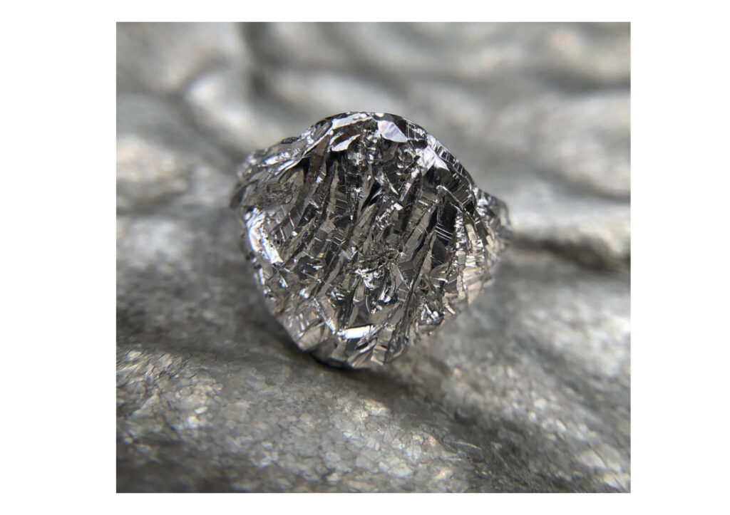 Castro Smith silver signet ring