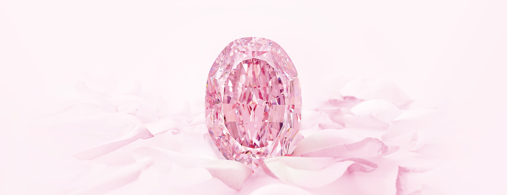 The Spirit of the Rose pink diamond at Sotheby's