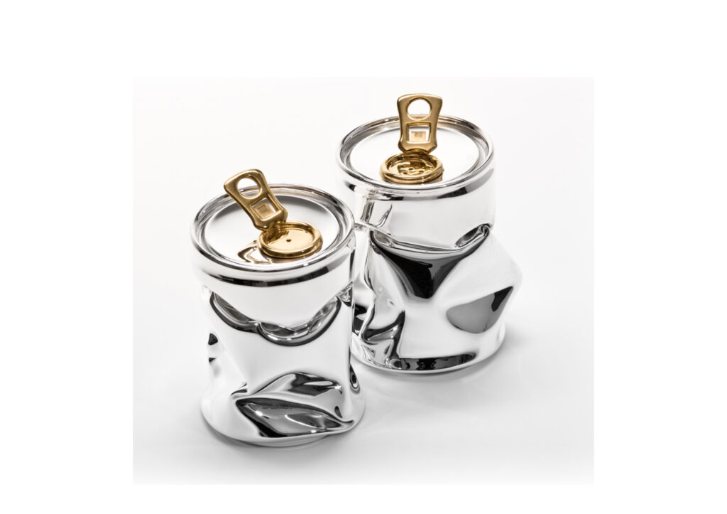 Rebecca Joselyn silver salt and pepper shakers