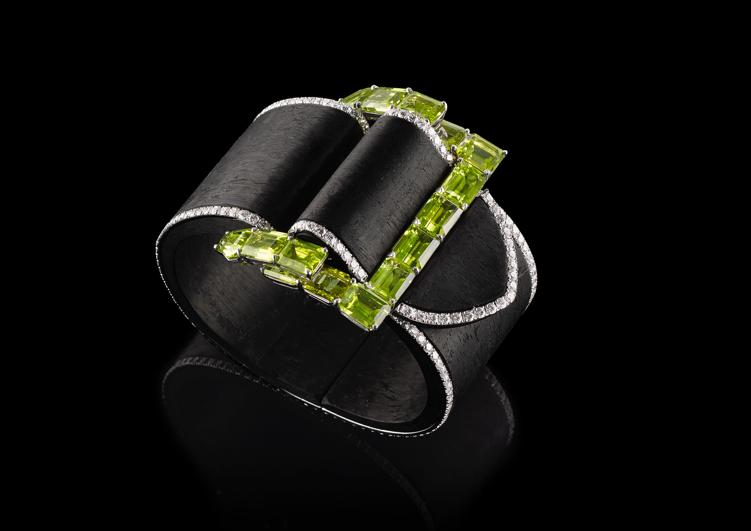 Fabio Salini belt jewel with peridot