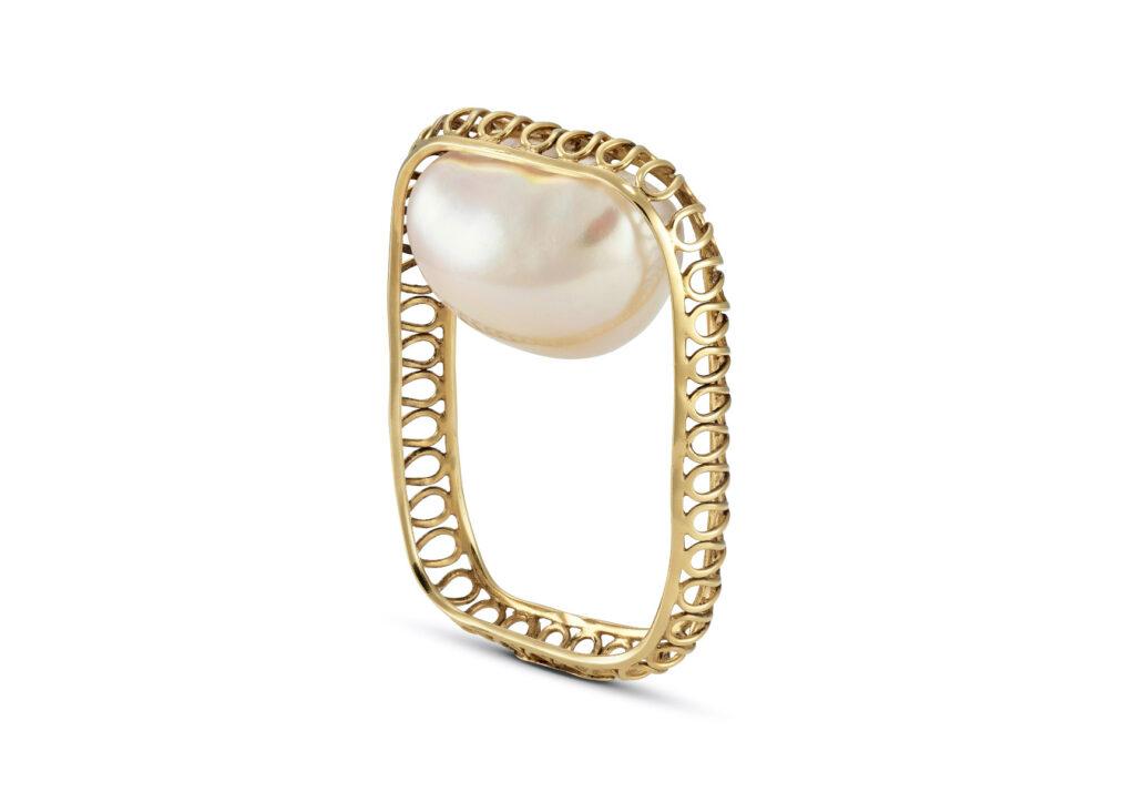 Leonid Dementiev pearl ring