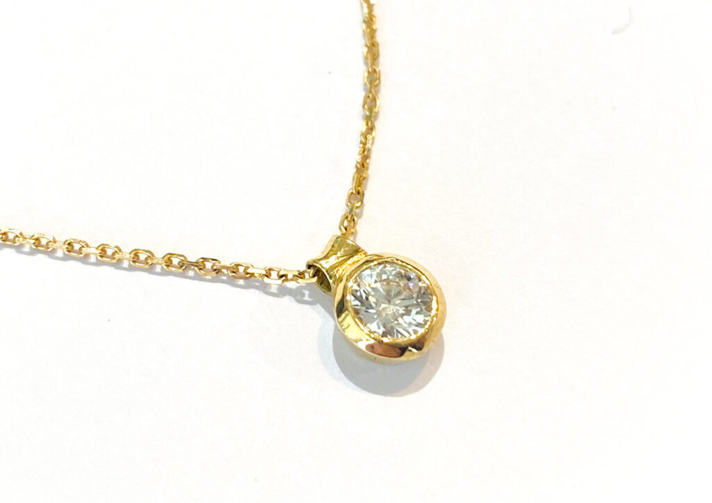 Libby Rak diamond pendant at The Jewellery Cut Shop