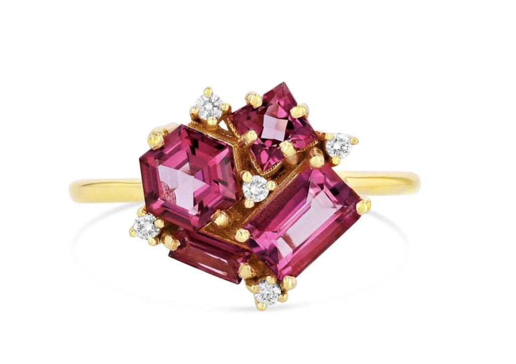 Suzanne Kalan pink topaz ring