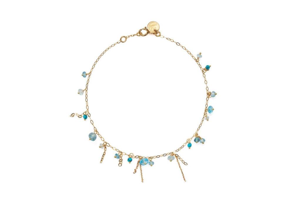 Sweetpea topaz bracelet