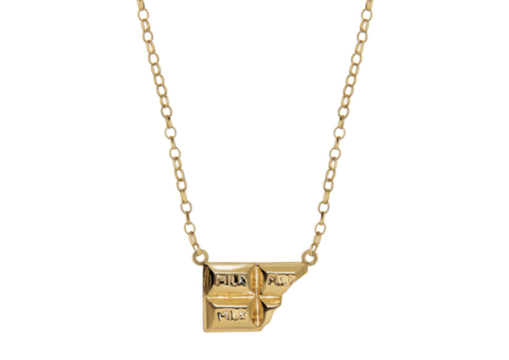 Tessa Packard gold-plated silver The Chocoholic's Necklace