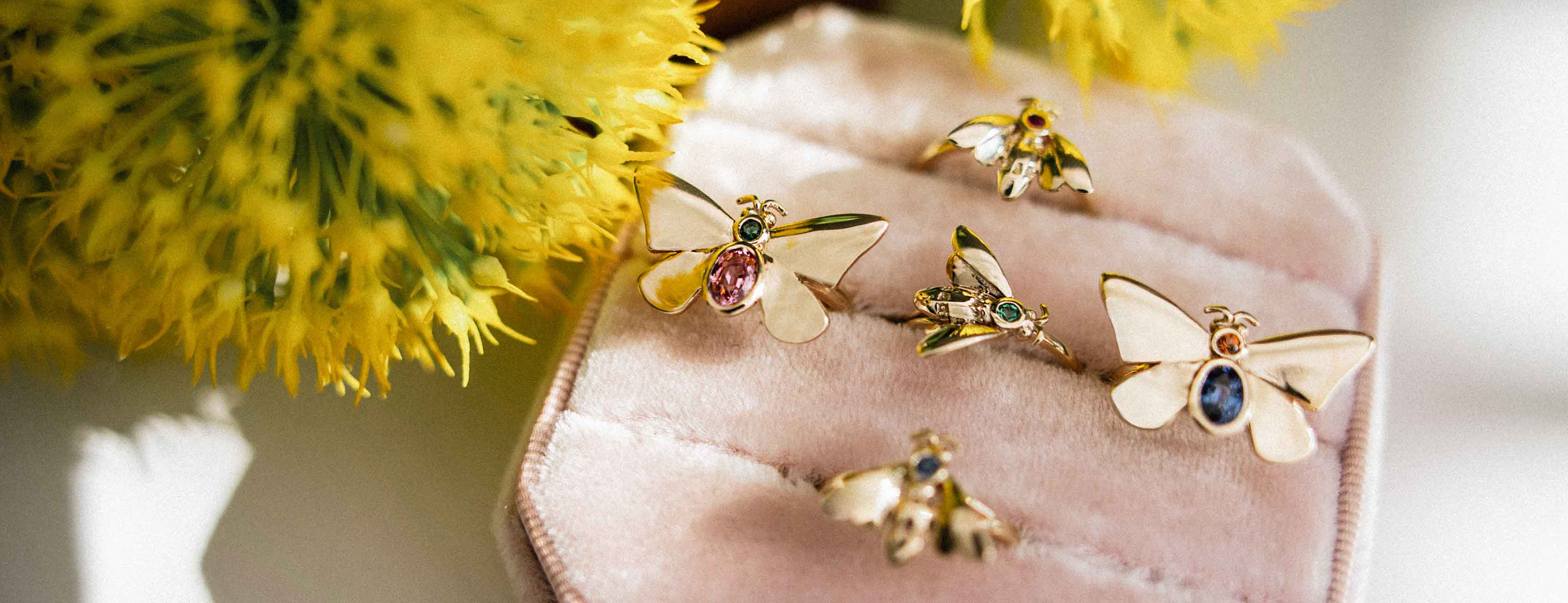 Jessica Steele Metamorphosis jewellery collection at The Jewellery Cut Shop