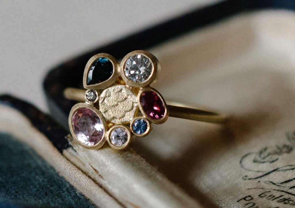 Alison Macleod Catkin Happenstance Halo Ring styled