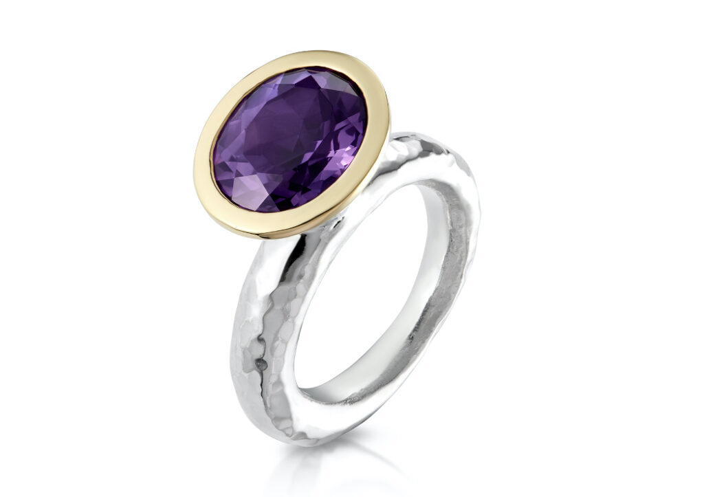 Samantha Salmons amethyst ring