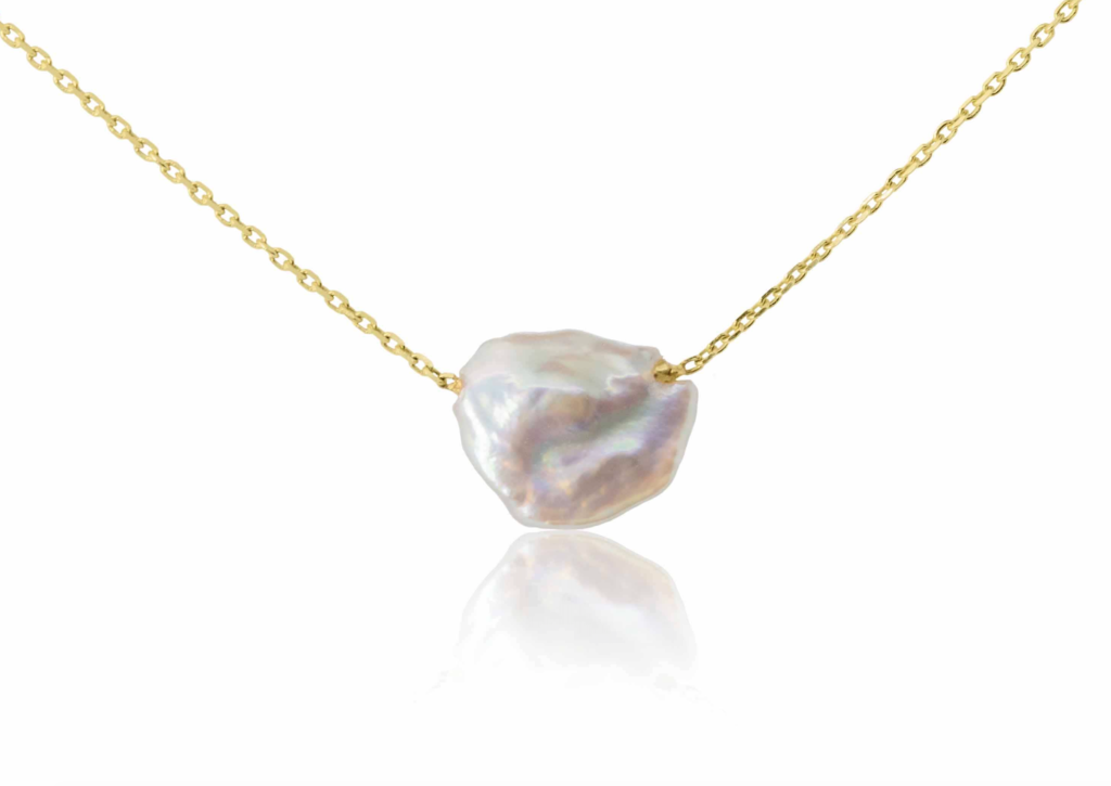 Origin 31 Sherbet Pip baroque pearl necklace