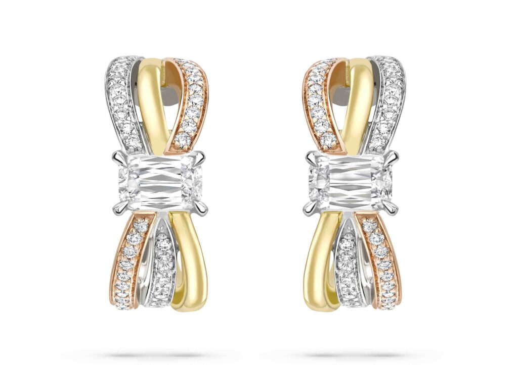 Boodles Ribbons jewellery collection with Ashoka diamonds