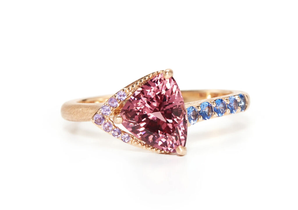 Eva Gems and Jewels pink ring