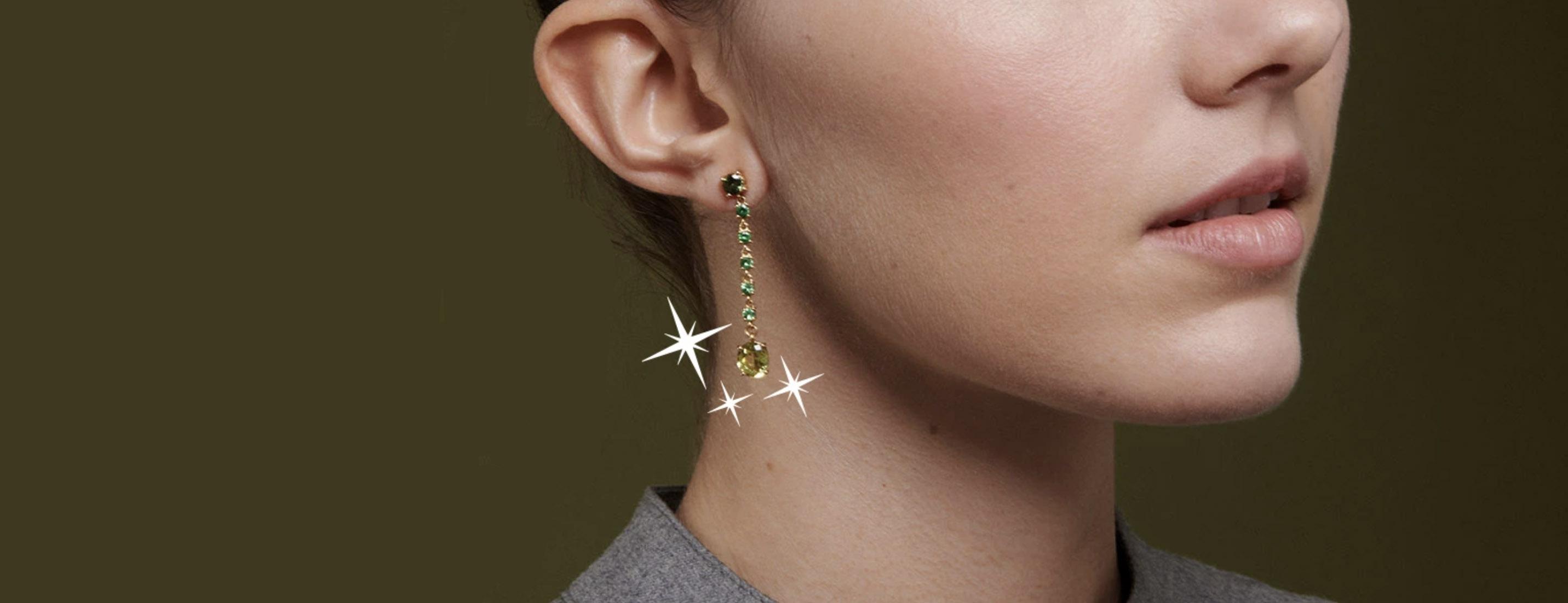 Eva Gems and Jewels earrings