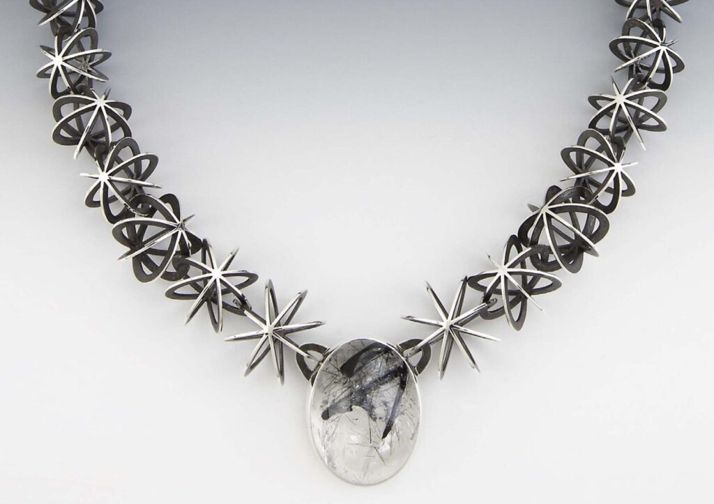 Concatenation d'etoiles Necklace by Valerie Jo Coulson