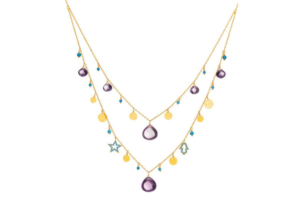 Dima amethyst necklace